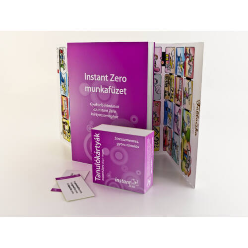 Instant Zero Tanulókártyák (angol-magyar)